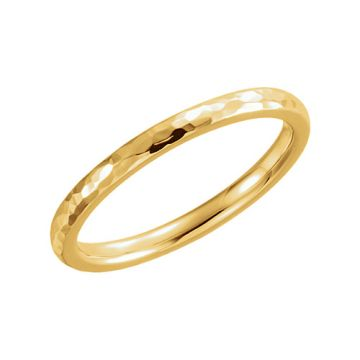 Stuller 14k Yellow Gold Comfort Fit Wedding Band