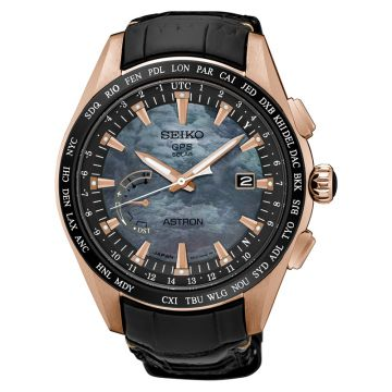 Grand Seiko Mens Novak Djokovic Limited Edition rose gold finish