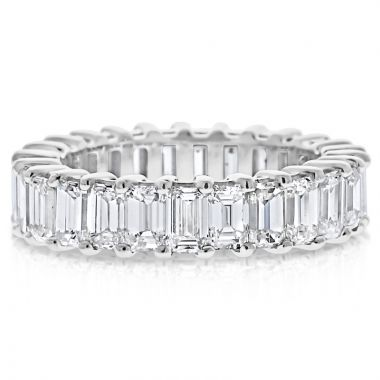 NEI Group 14k Gold 5 Carat Emerald Cut Band