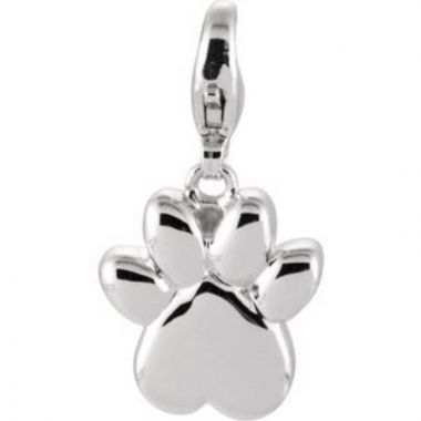 Charming Animals?? Paw Print Charm