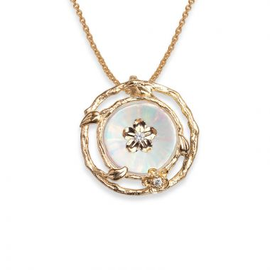 Galatea 14k Gold Illusia Pendant