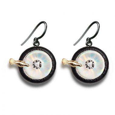 Galatea 14k Gold Illusia Earrings