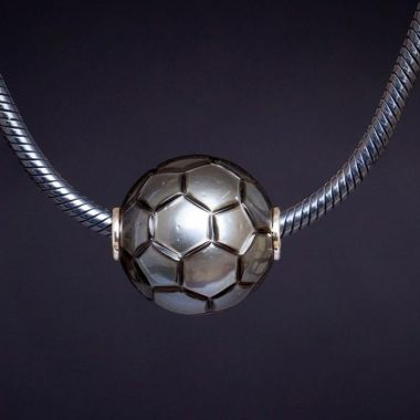 Galatea Soccer Ball Necklace