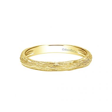 Gabriel & Co. 14k Yellow Gold Stackable Ladies' Ring