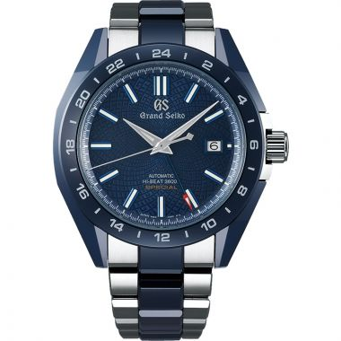 Grand Seiko Sport Collection Blue Ceramic Men's Watch