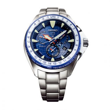 Grand Seiko Men's Marinemaster GPS Solar Limited Edition Titanium Watch
